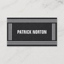 Minimal Professional Elegant Business Card
