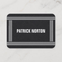 Minimal Professional Elegant Mighty Business Card
