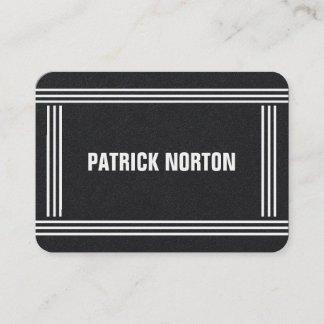 Minimal Professional Elegant Mighty Business Card