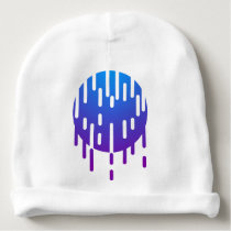 Minimal rain baby beanie