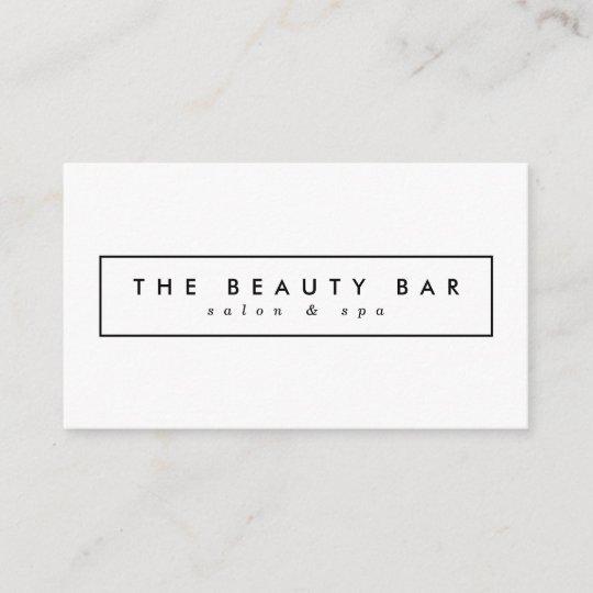 Minimal Stylish Appointment Business Cards Zazzle