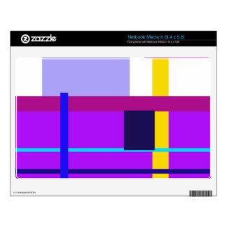 Minimal Violet Medium Netbook Decal