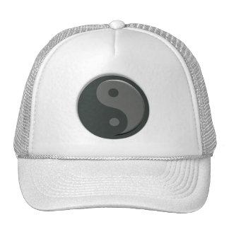 Minimal Yin Yang Taoism Cap Hat