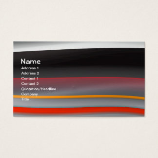 Minimalism 2 Fine Fractal Art Business Card