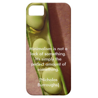 Minimalism bean pod phone case cover for iPhone 5/5S
