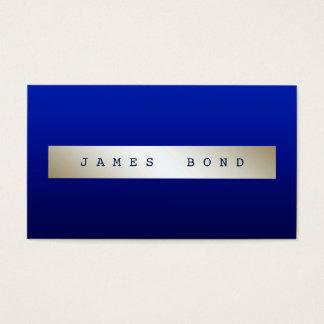 Minimalism  Blue Marine Ombre Ivory Vip Business Card
