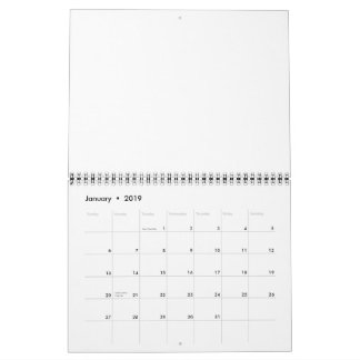 Minimalism  Calendar  or  any year