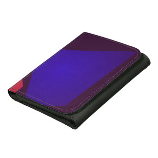 Minimalism Dark Leather Trifold Wallet