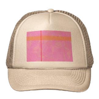 Minimalism de mármol rosado coralino gorros