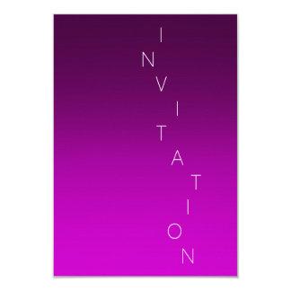 Minimalism Fashion Event Glam Purple Lavanda Ombre Card