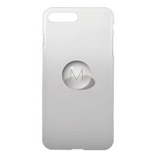 Minimalism Monogram Monochromatic Gray Ombre Ball iPhone 7 Plus Case