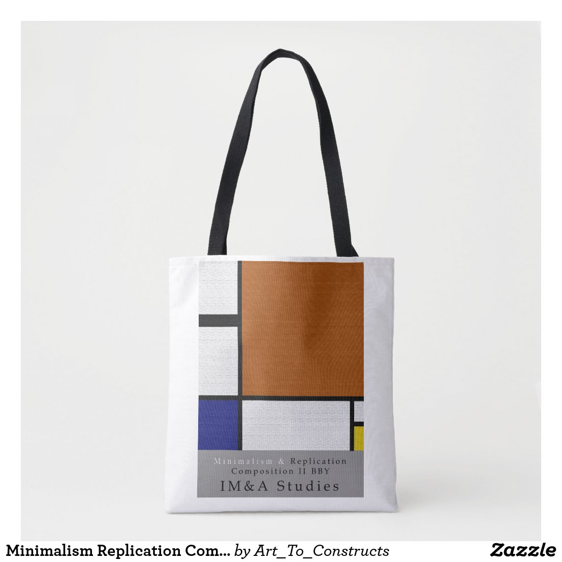 Minimalism Replication Composition II BBY Tote