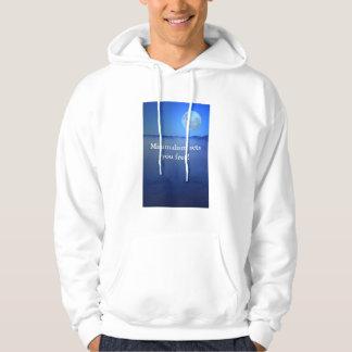 Minimalism sets you free! hoodie