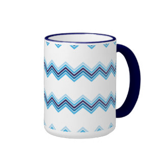 Minimalism snow mountains pattern mug