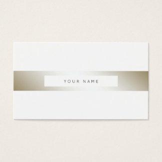 Minimalism Stripes Silver Pearl Black White Vip Business Card