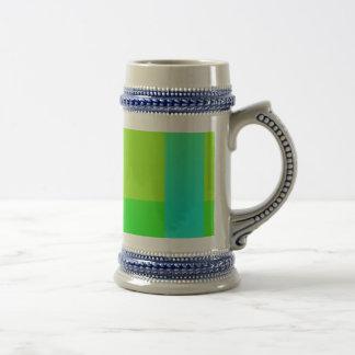 Minimalism verde claro jarra de cerveza