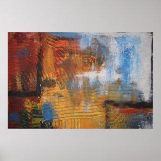 Minimalist Abstract Art Painting Poster Print