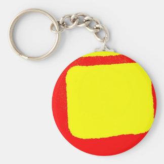 Minimalist Abstract Keychain