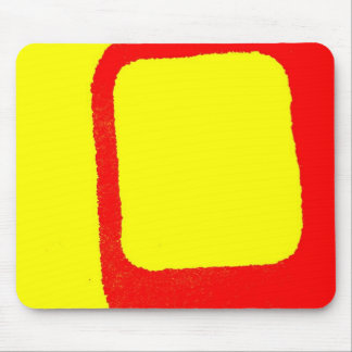 Minimalist Abstract Mouse Pad
