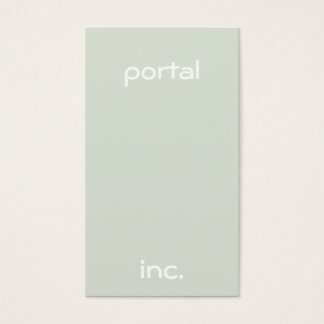 Minimalist and Modern Business Card