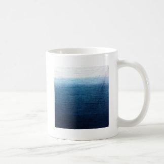 Minimalist Approach 2 Indigo Coffee Mug