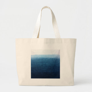 Minimalist Approach 2 Indigo Large Tote Bag
