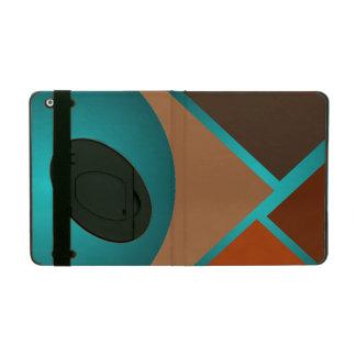Minimalist Art iPad Case Autumn Colors