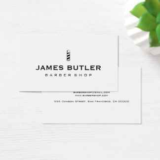 Barber Shop Business Cards Templates Zazzle - Barber shop business card templates