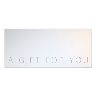Minimalist Beauty Salon Spa Gift Certificate