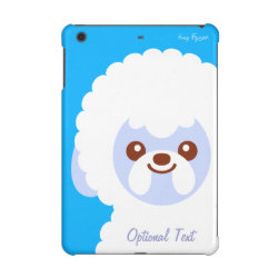 Case Savvy Glossy Finish iPad Mini Retina Case with Bichon Frise Phone Cases design