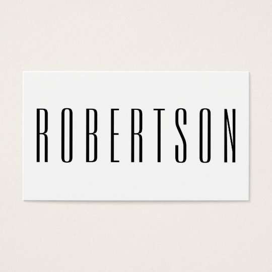 Minimalist black and white modern business card zazzle minimalist black and white modern business card reheart Gallery