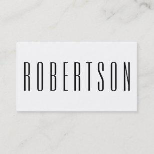 Modern business cards zazzle minimalist black and white modern business card colourmoves