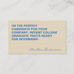 Graduation quotes business cards zazzle minimalist bold large quote business card colourmoves