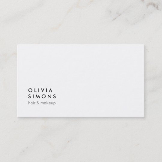 Minimalist business cards zazzle minimalist business cards reheart Images