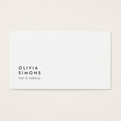 Minimalist business cards selol ink minimalist business cards reheart Images