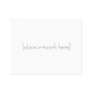 Minimalist Canvas Canvas Print