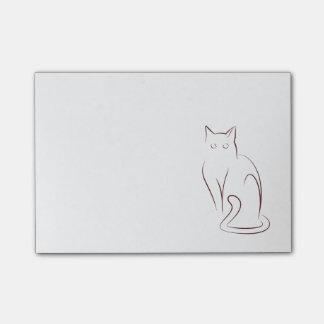 Minimalist Cat Post-it® Notes