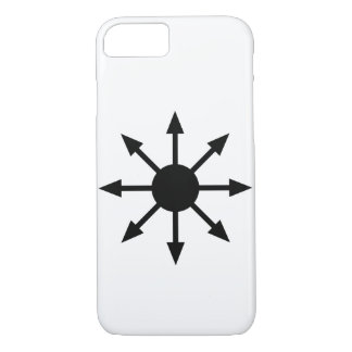 Minimalist Chaos Star iPhone Case