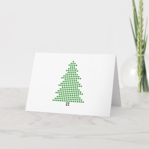minimalist tree christmas cards zazzle
