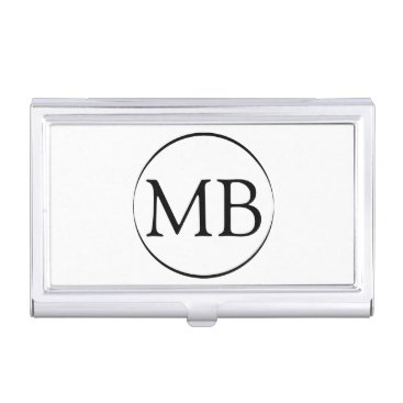 Professional Business Minimalist Circle Business Card Business Card Holder