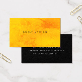 Minimalist Colorful Texture Business Card