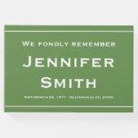 [ Thumbnail: Minimalist & Customized Condolences Guestbook ]