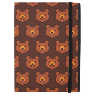 "Minimalist Cute Grizzly / Brown Bear Cartoon iPad Pro 12.9"" Case"