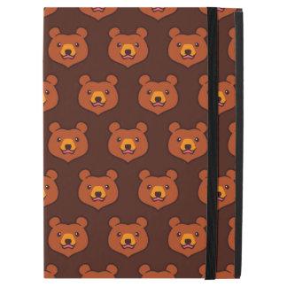 Minimalist Cute Grizzly / Brown Bear Cartoon iPad Pro Case