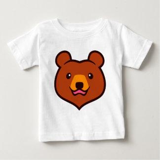 Minimalist Cute Grizzly / Brown Bear Cartoon Shirts