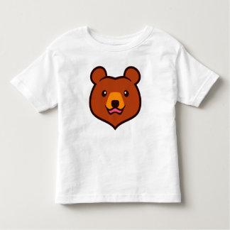 Minimalist Cute Grizzly / Brown Bear Cartoon T-shirts