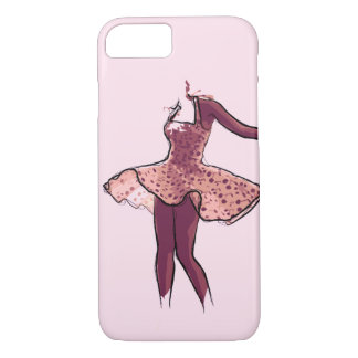 Minimalist Dancer iPhone 8/7 Case