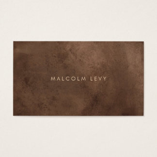 Minimalist Distressed Grunge Appointment Cards