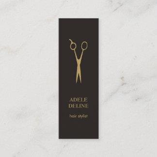 Minimalist Elegant Hair Stylist Business Card