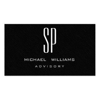 MINIMALIST ELEGANT PROFESSIONAL BLACK ELEGANT BUSINESS CARDS